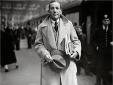 Polo coat Noel Coward, 1937
