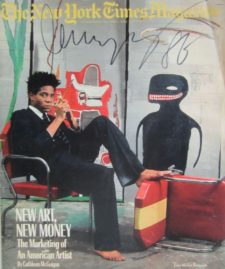 BASQUIAT_New York Times Magazine_1985