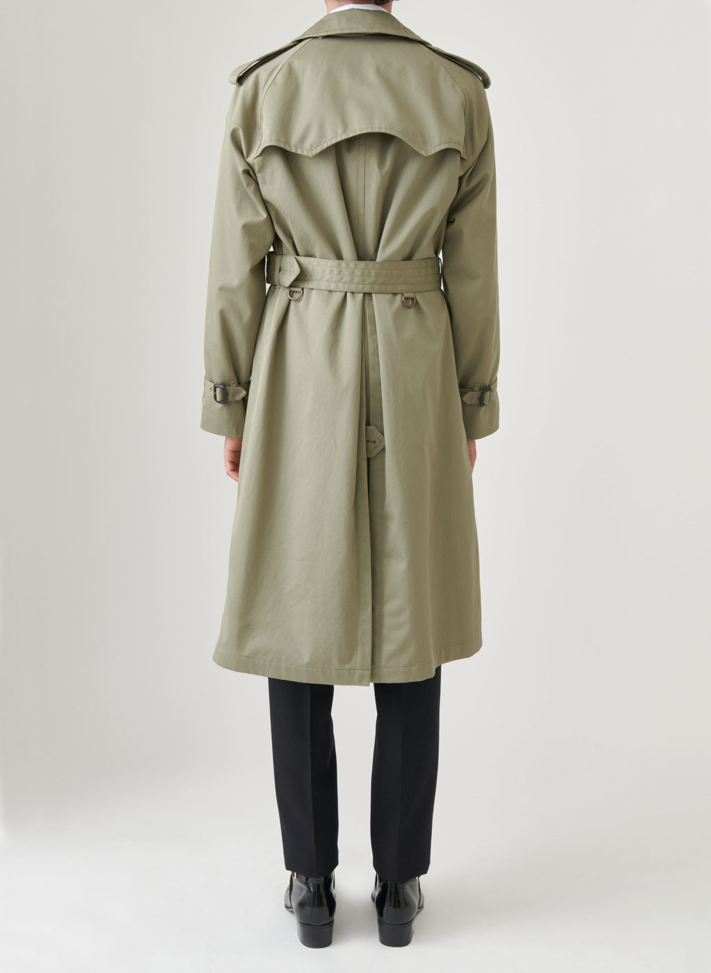 trench coat kaki