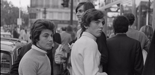 a group of Minets by Henri Cartier-Bresson, Paris, 1970s
