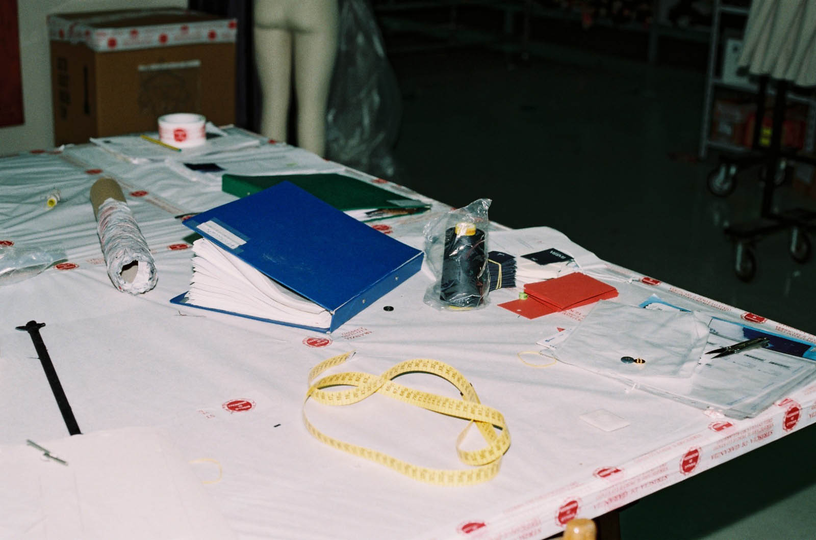 table de travail, Naples, 2019