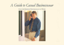 """""""A Guide to Casual Businesswear"""", 1992"""
